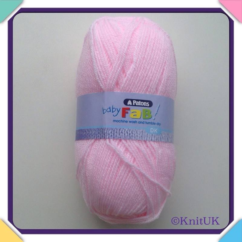 patons baby faby dk pink