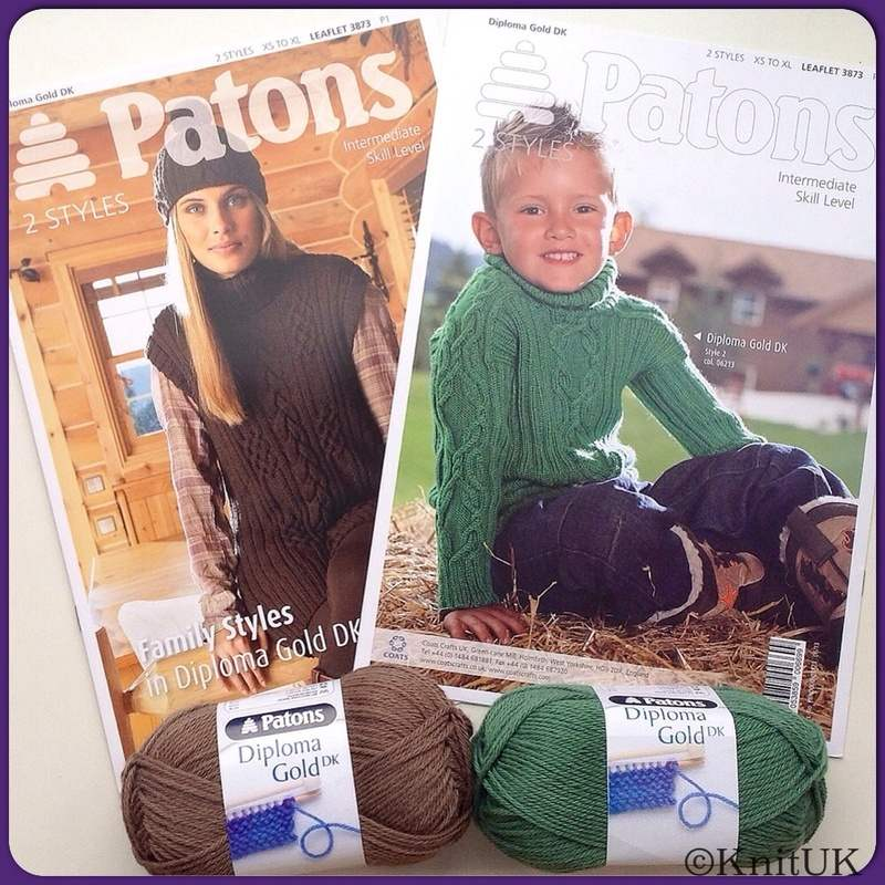 Patons Leaflet Family Styles DG fb