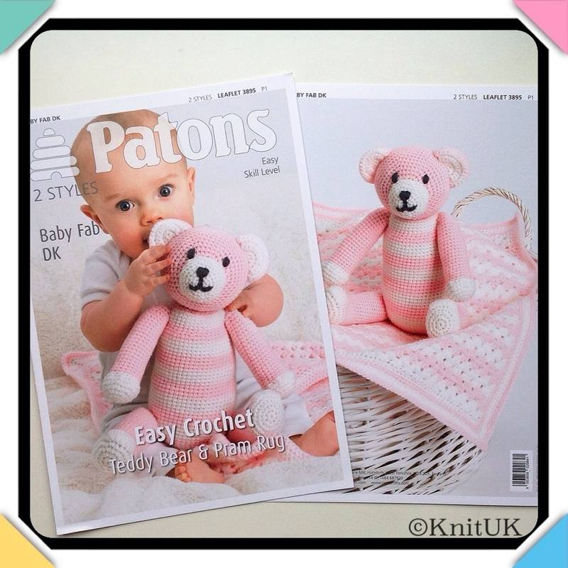 Patons leaflet 3895 easy crochet fb