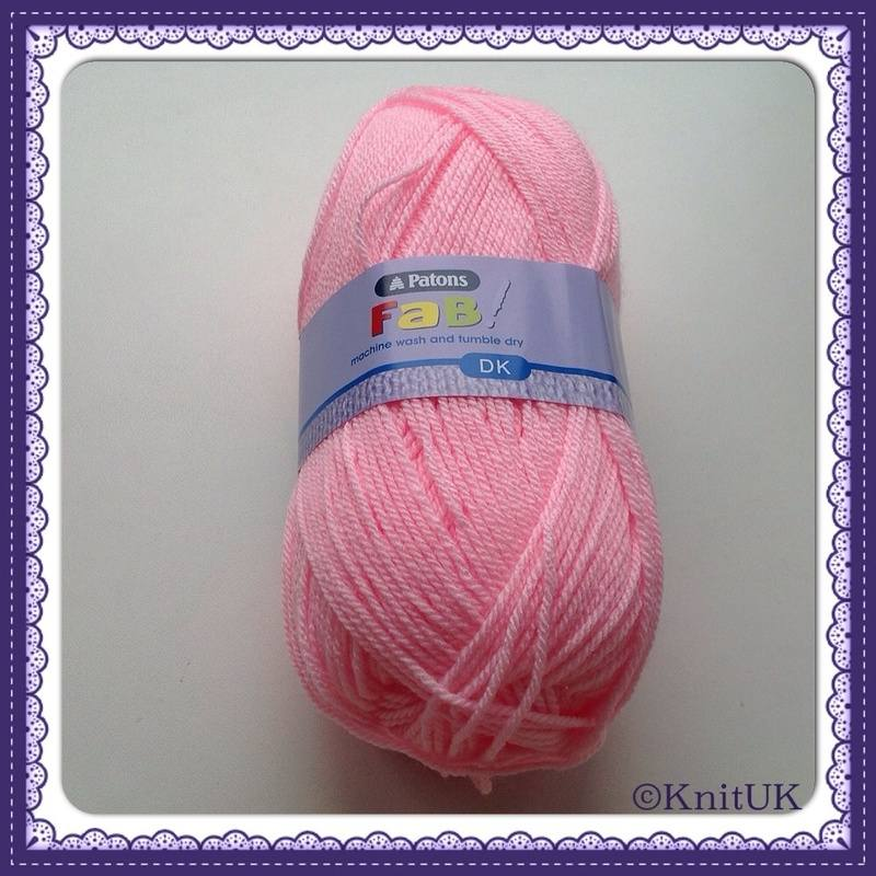 patons fab dk pink