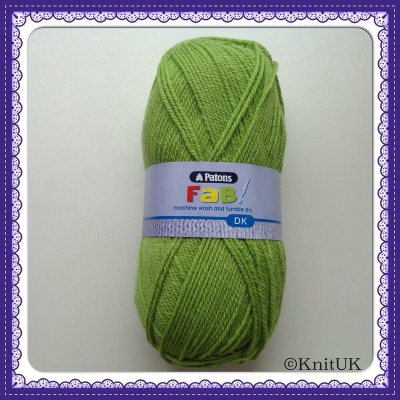 patons fab dk lime
