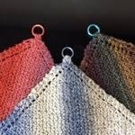 Knitting Kit - KnitUK Dishcloth Kit. Knits 3 dishcloths