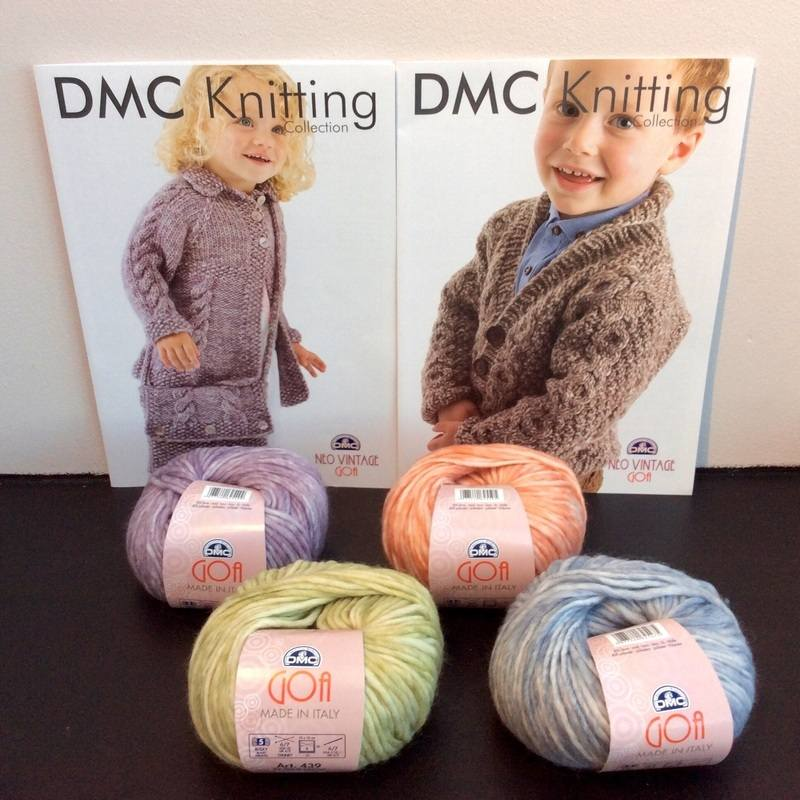 dmc girls n boys cardigan n wool