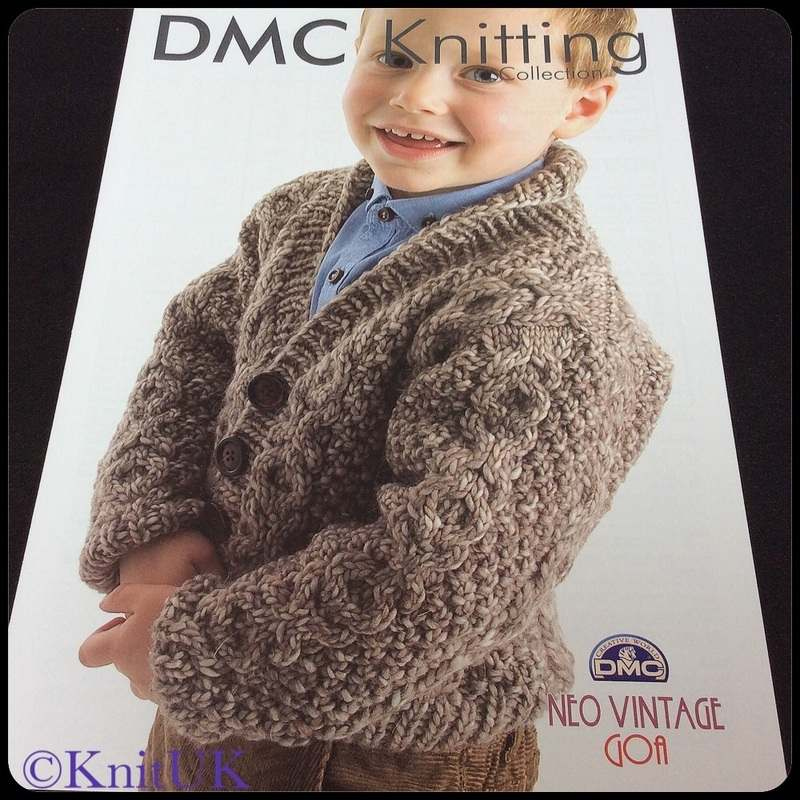 dmc boys cable cardigan