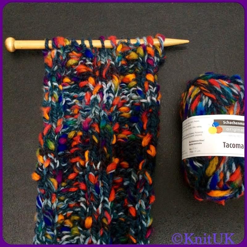 smc tacoma scarf on needles