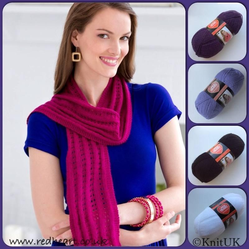 RH margareta lace scarf