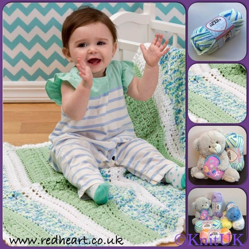 Soft Baby Steps Prints Yarn Red Heart Knitting Yarns