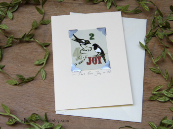 TWO FOR JOY - CARD