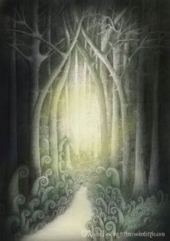 STRANGE LIGHT - LIMITED EDITION GICLEE PRINT