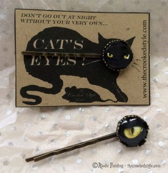 CAT'S EYE HAIRGRIPS