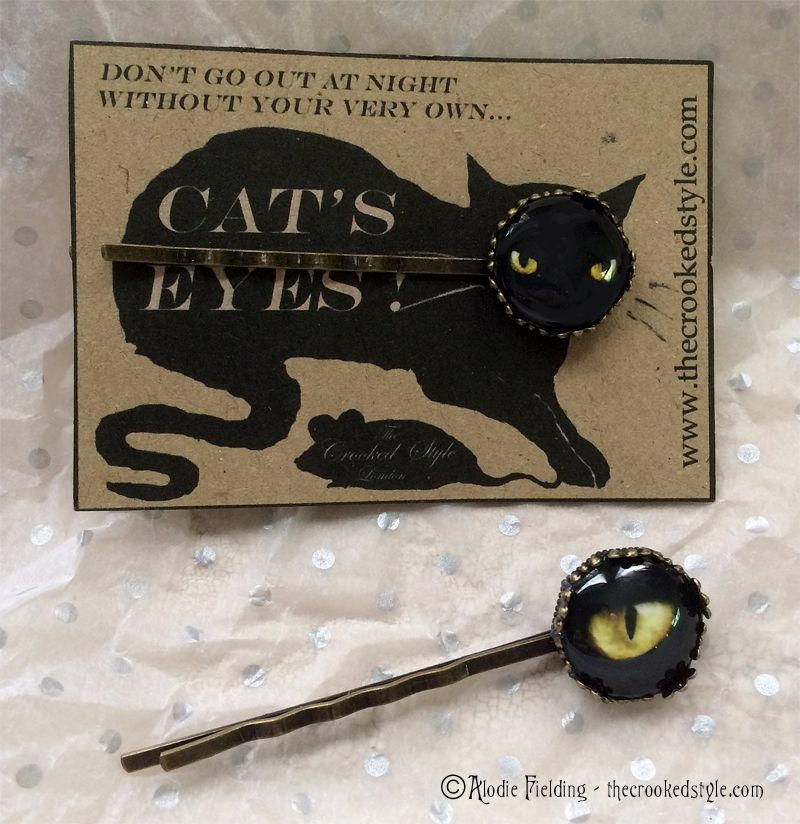 CATS EYE HAIRGRIPS