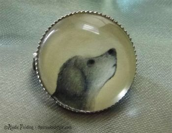 LOYAL DOG BROOCH