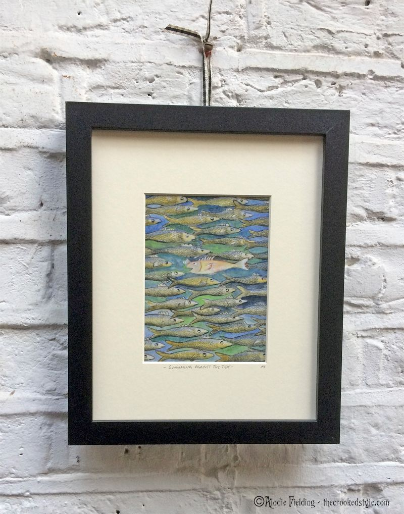 07. SWIMMING AGAINST THE TIDE - GICLEE PRINT