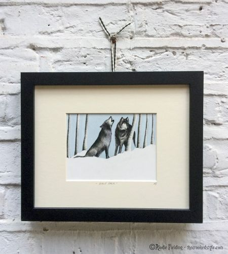 WOLF PACK - GICLEE PRINT