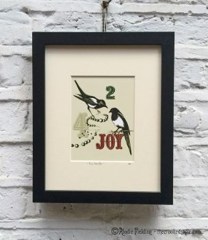 010. TWO FOR JOY - GICLEE PRINT