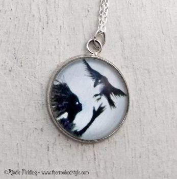 SNOWBIRD ( White Background ) - PENDANT