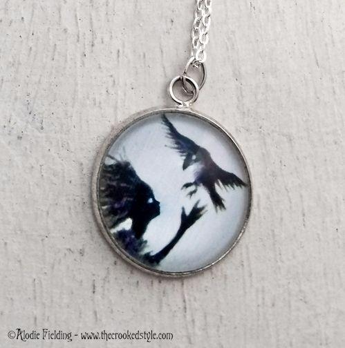 SNOWBIRD BLACK - PENDANT