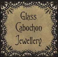 ILLUSTRATED GLASS CABOCHON JEWELLERY