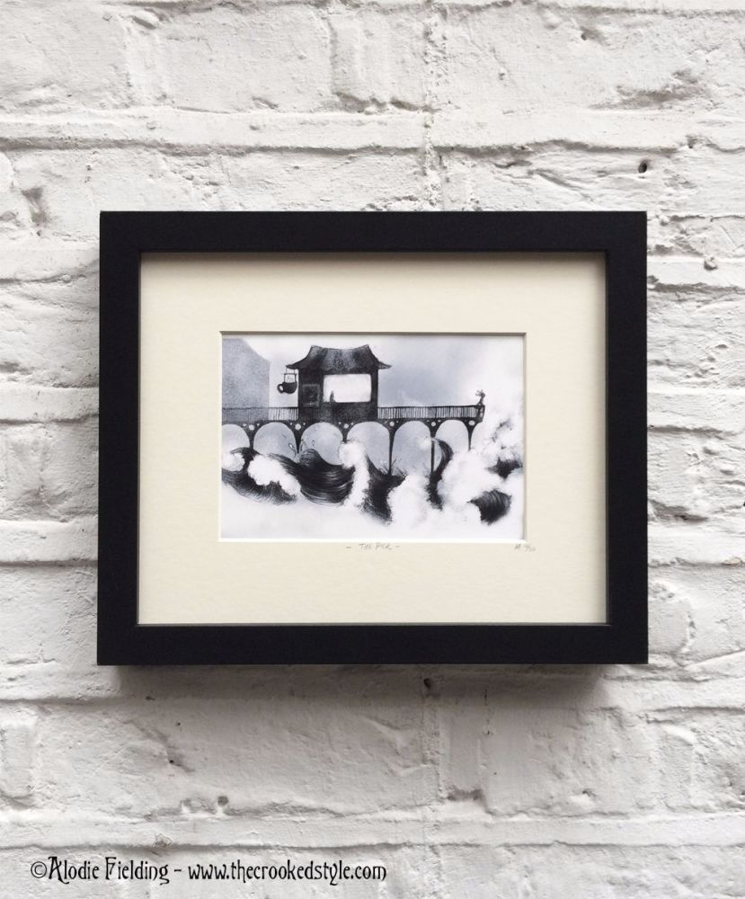 THE PIER - LIMITED EDITION GICLEE PRINT