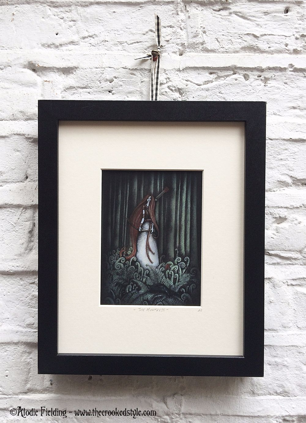 THE HUNTRESS - LIMITED EDITION GICLEE PRINT