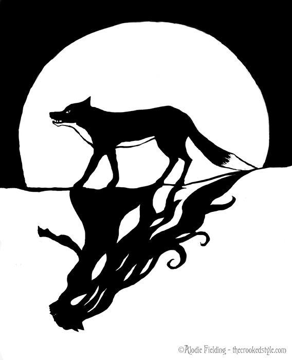 Shadow Fox By Alodie Fielding