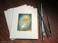 001 - THE MOON GAZY HARE - GICLEE PRINT