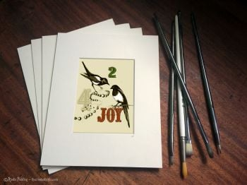 025 - TWO FOR JOY - GICLEE PRINT