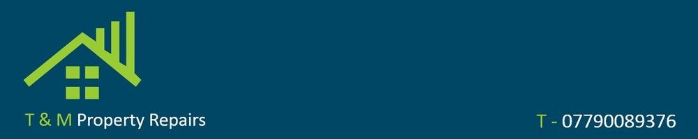T&M Property Repairs, site logo.