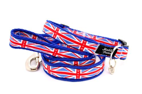 Blue Union Jack Collar from