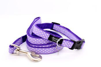 Lilac Spot Collar