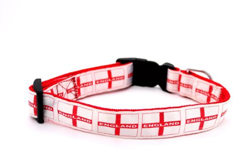 St Georges Cross flag Collar
