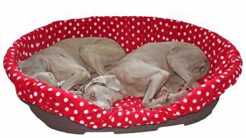 Red Spot fleece bed liner