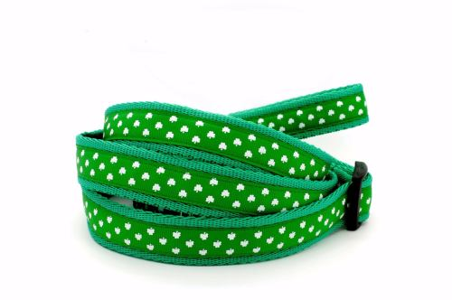 Emerald green Shamrocks Collar