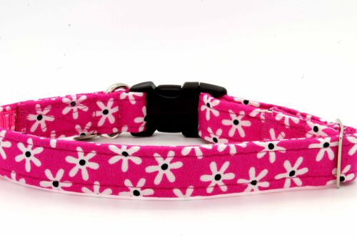 Pink/white Daisies Collar