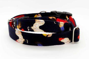 Navy chickens Collar