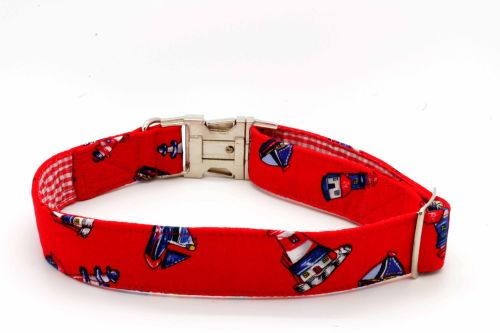 Red lighthouse Collar