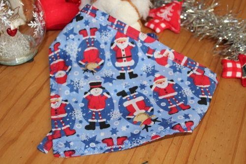 Blue Santas Bandana
