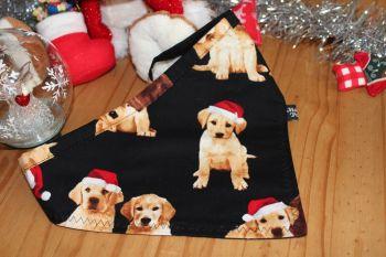 Christmas Labrador Bandana