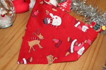 Snowman/Reindeer bandana