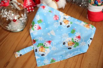 Blue Polar Bear/ Presents Bandana
