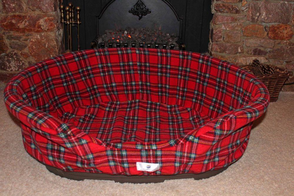 plastic dog bed fleece liner