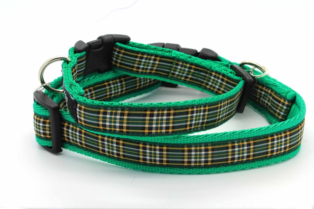 Irish Natural Tartan Collar