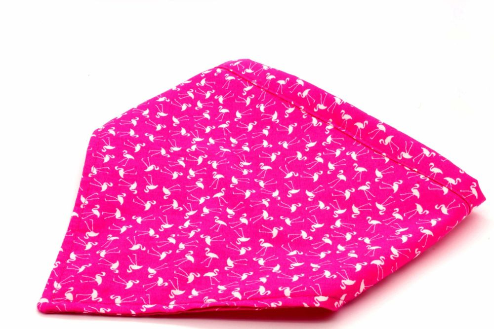 Pink Flamingoes Bandana