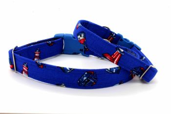 Royal blue Lighthouse Collar