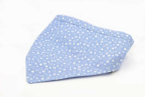 Little blue hearts Bandana