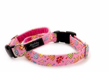 Pink Umbrella Collar