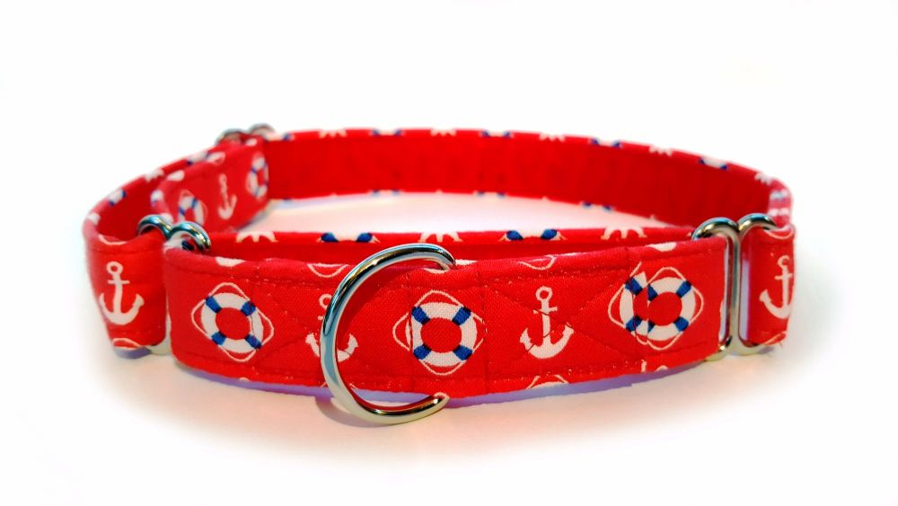 Red Nautical Collar