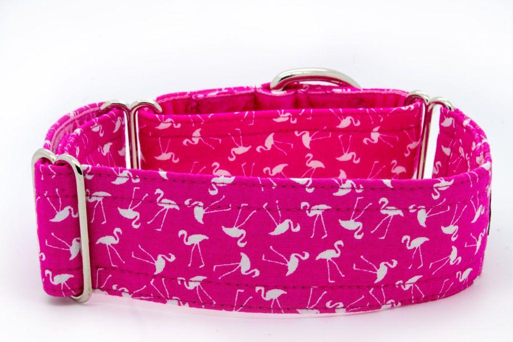 Pink Flamingoes Hound Collar