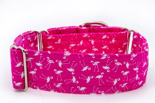 Pink Flamingoes Hound Collar
