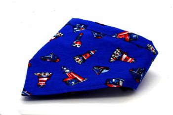 Blue Lighthouse Bandana